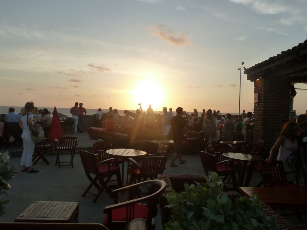 Sunset Cafe Del Mar Cartagena