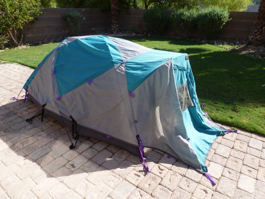 & Trango 2 tent by Mountain Hardware is the bomb